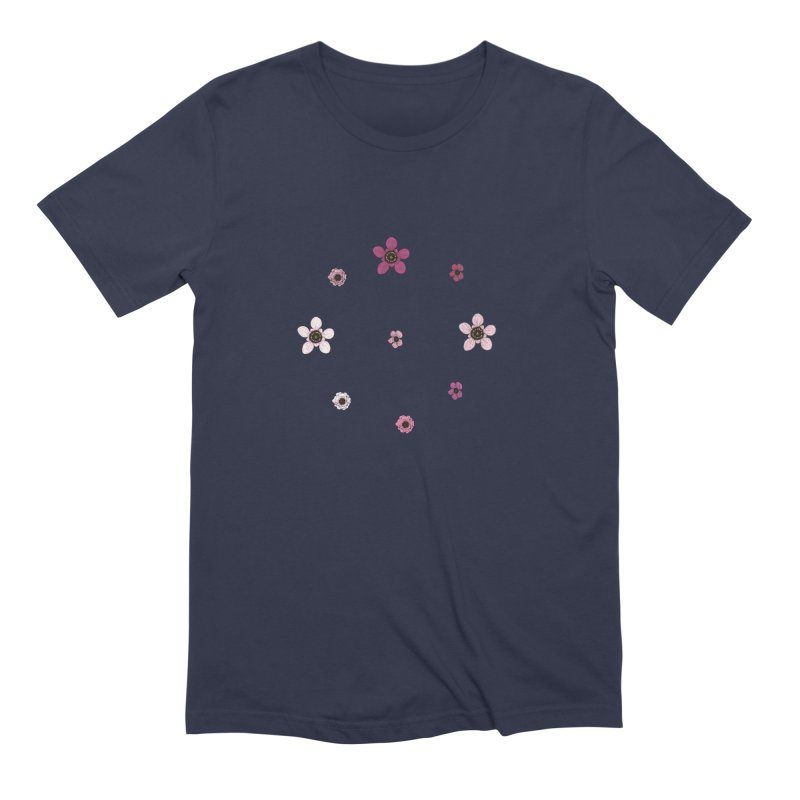 Tea Tree Flowers Men's Extra Soft T-Shirt by Svaeth's Artist Shop