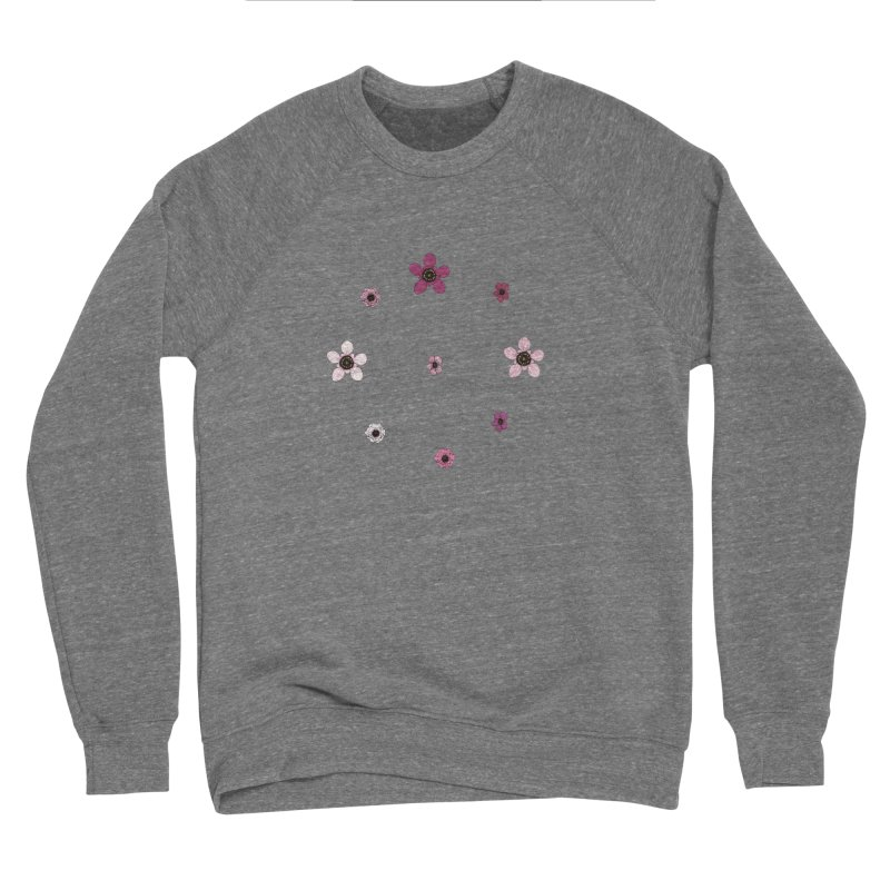 Tea Tree Flowers Women's Sponge Fleece Sweatshirt by Svaeth's Artist Shop