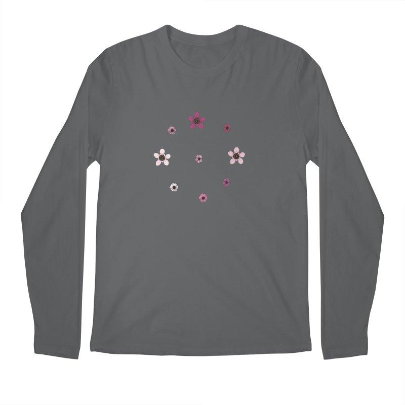 Tea Tree Flowers Men's Longsleeve T-Shirt by Svaeth's Artist Shop