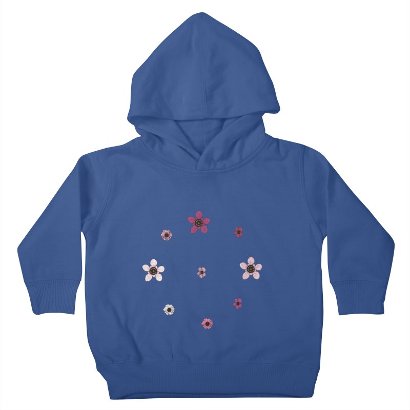 Tea Tree Flowers Kids Toddler Pullover Hoody by Svaeth's Artist Shop