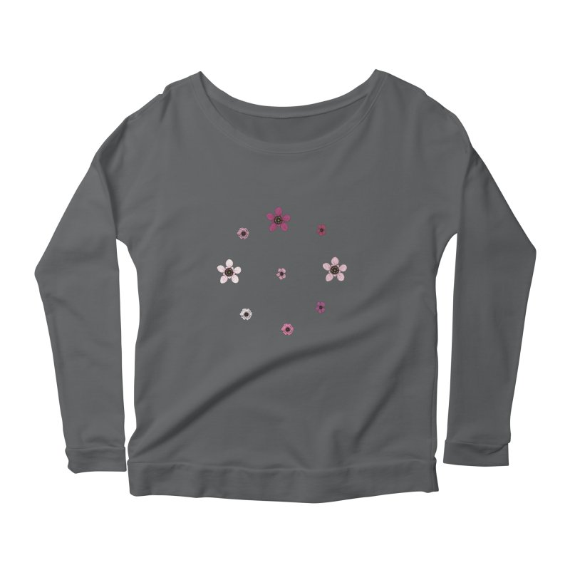 Tea Tree Flowers Women's Longsleeve T-Shirt by Svaeth's Artist Shop