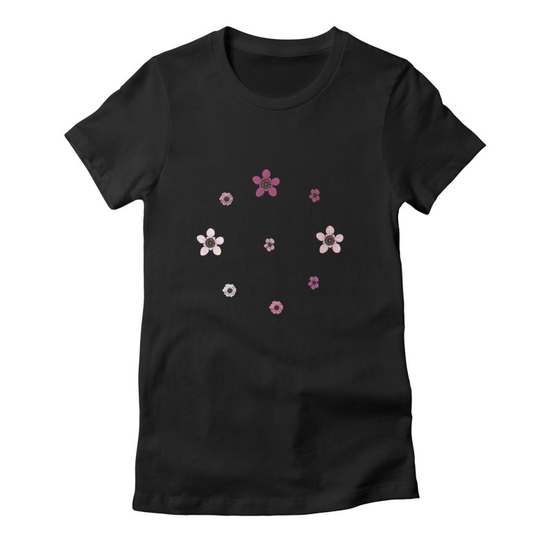 Tea Tree Flowers Women's T-Shirt by Svaeth's Artist Shop