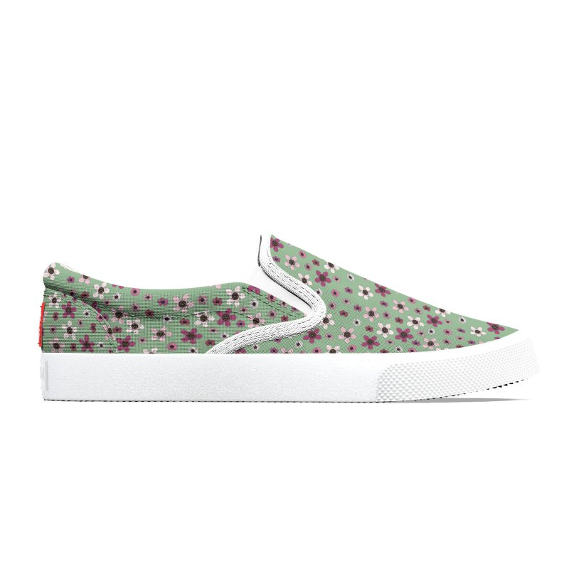 Tea Tree Flowers Women's Shoes by Svaeth's Artist Shop