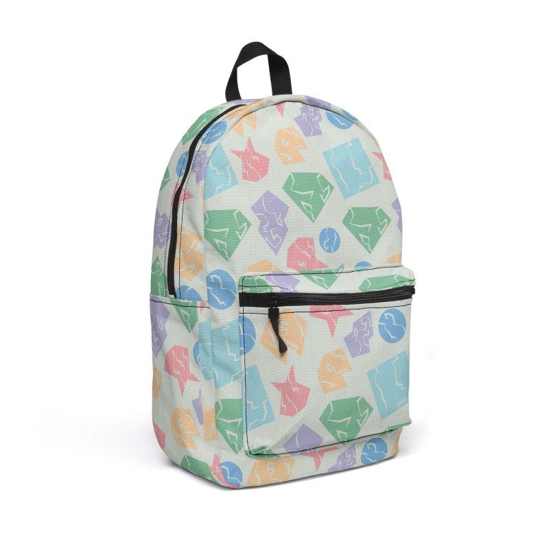 Broken Shapes Accessories Backpack Bag by Svaeth's Artist Shop