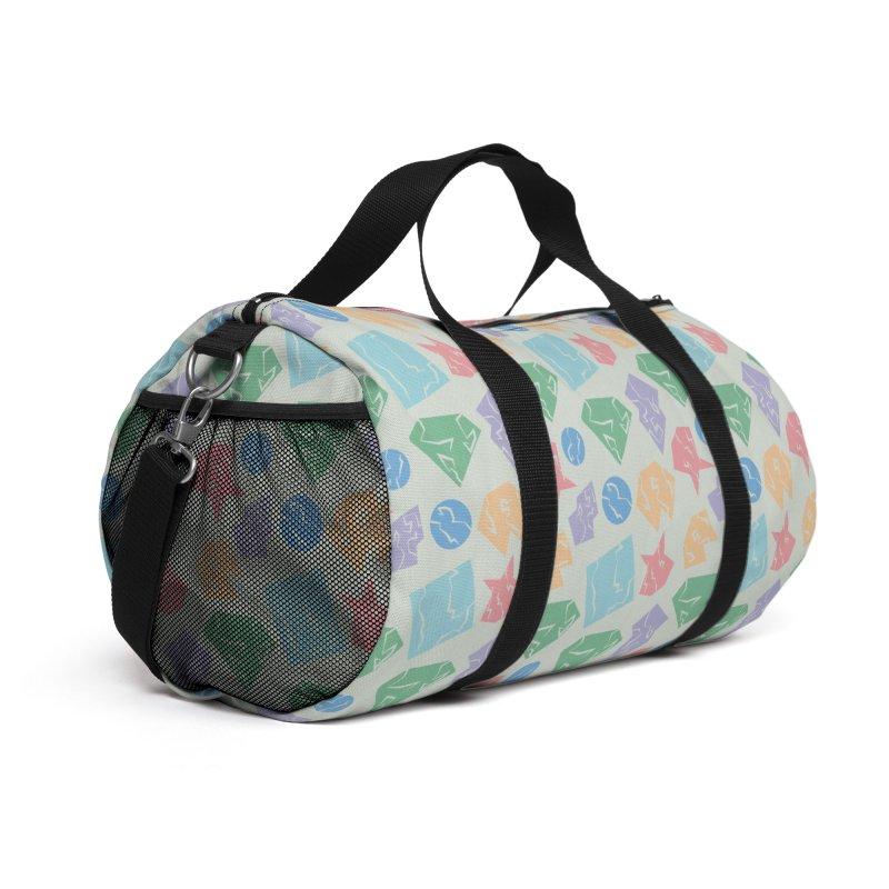 Broken Shapes Accessories Bag by Svaeth's Artist Shop