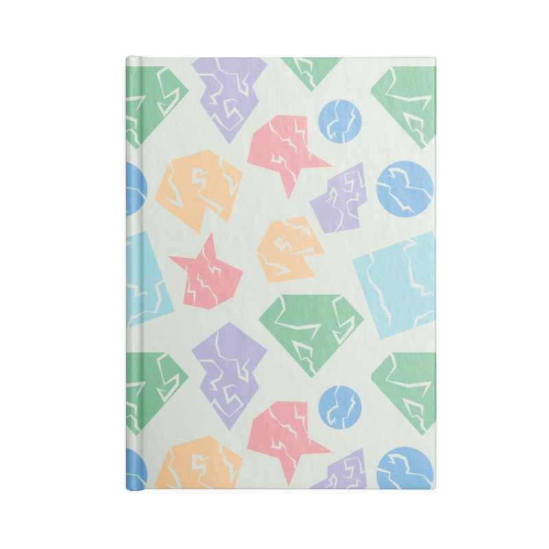 Broken Shapes Accessories Blank Journal Notebook by Svaeth's Artist Shop