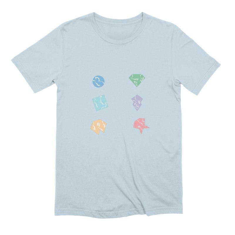 Broken Shapes Men's Extra Soft T-Shirt by Svaeth's Artist Shop