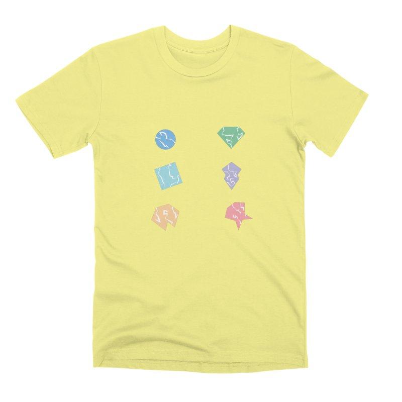 Broken Shapes Men's Premium T-Shirt by Svaeth's Artist Shop