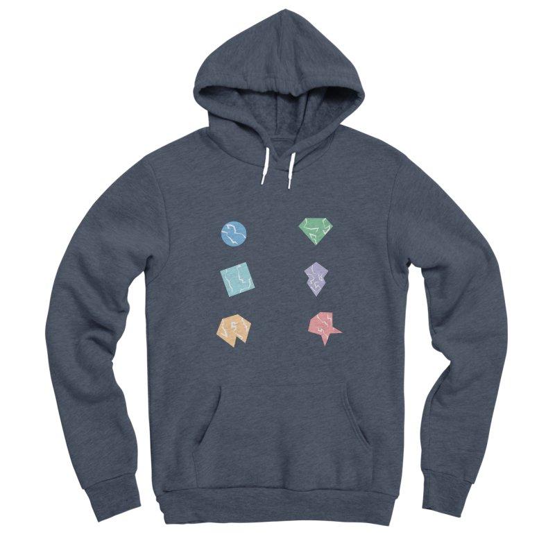 Broken Shapes Women's Sponge Fleece Pullover Hoody by Svaeth's Artist Shop