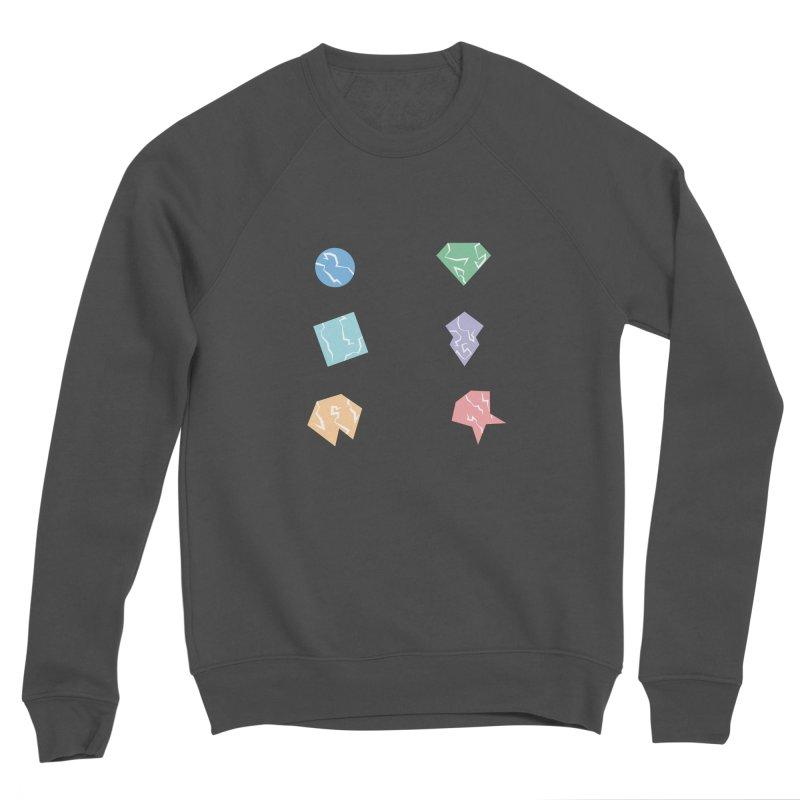 Broken Shapes Women's Sponge Fleece Sweatshirt by Svaeth's Artist Shop