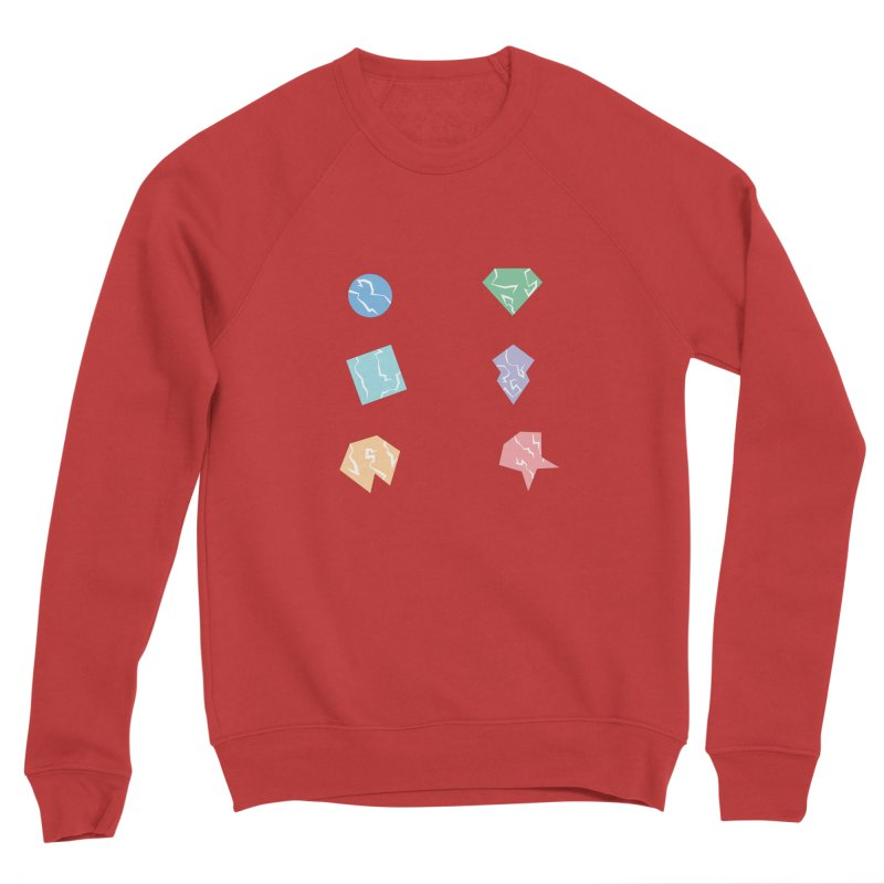 Broken Shapes Women's Sponge Fleece Sweatshirt by Svaeth's Artist Shop