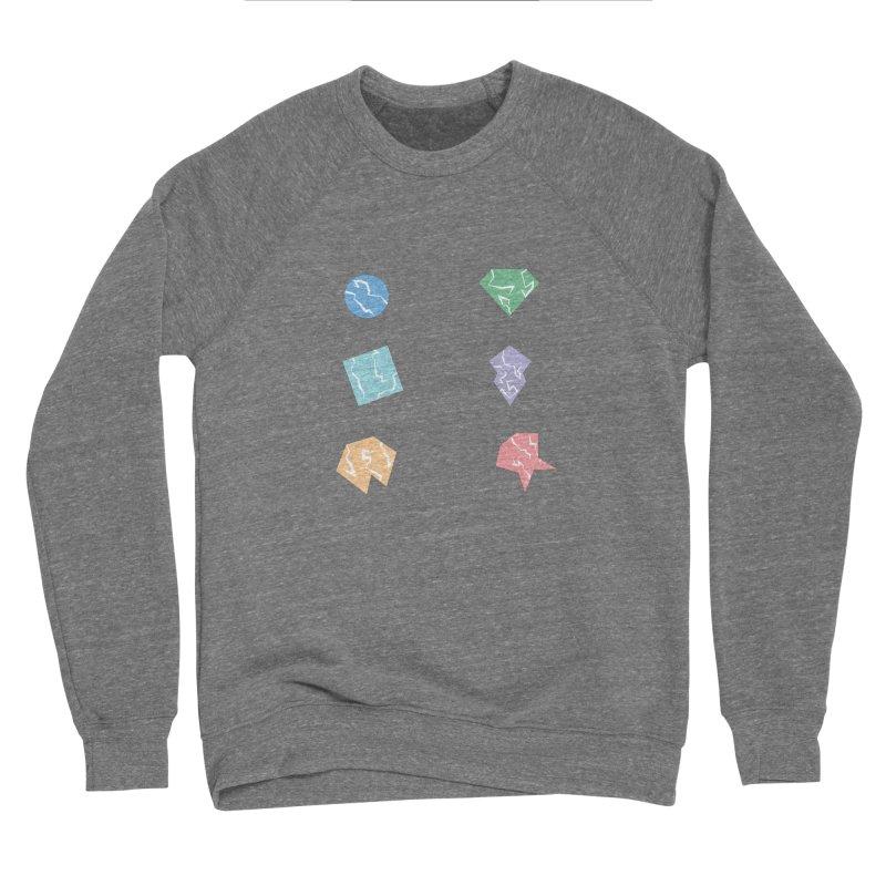 Broken Shapes Men's Sponge Fleece Sweatshirt by Svaeth's Artist Shop