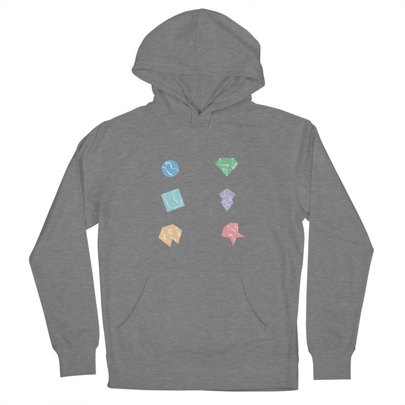Broken Shapes Men's Pullover Hoody by Svaeth's Artist Shop