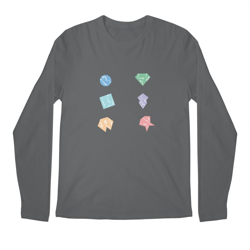 Broken Shapes Men's Longsleeve T-Shirt by Svaeth's Artist Shop