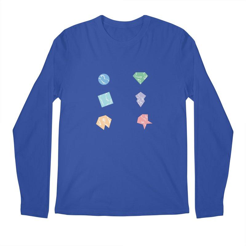 Broken Shapes Men's Longsleeve T-Shirt by Svaeth's Artist Shop