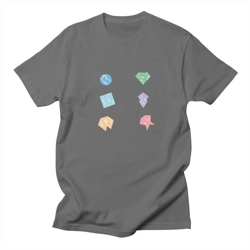 Broken Shapes Men's Regular T-Shirt by Svaeth's Artist Shop