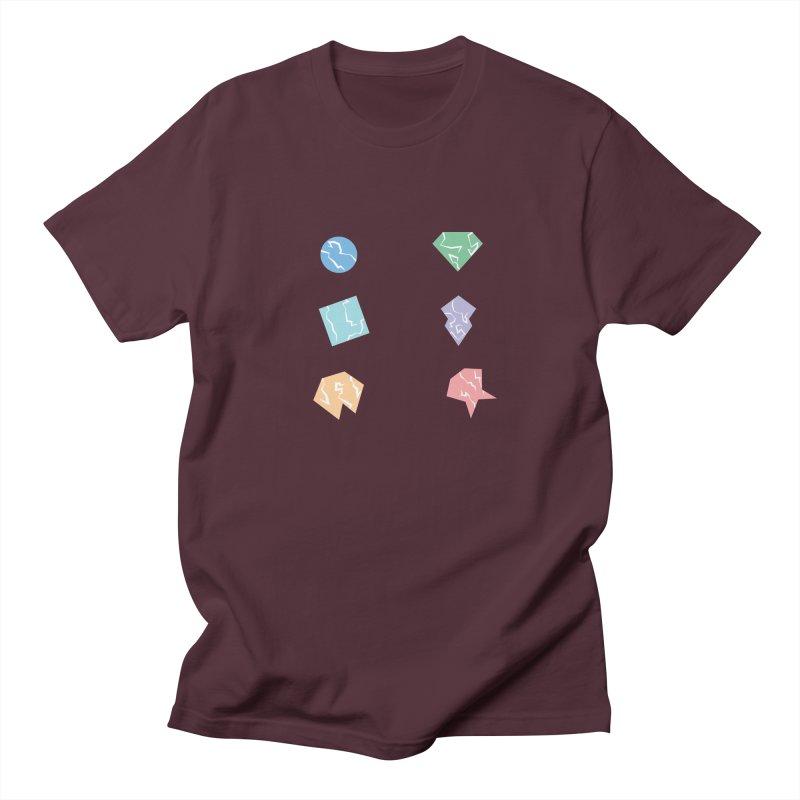 Broken Shapes Men's Regular T-Shirt by Svaeth's Artist Shop