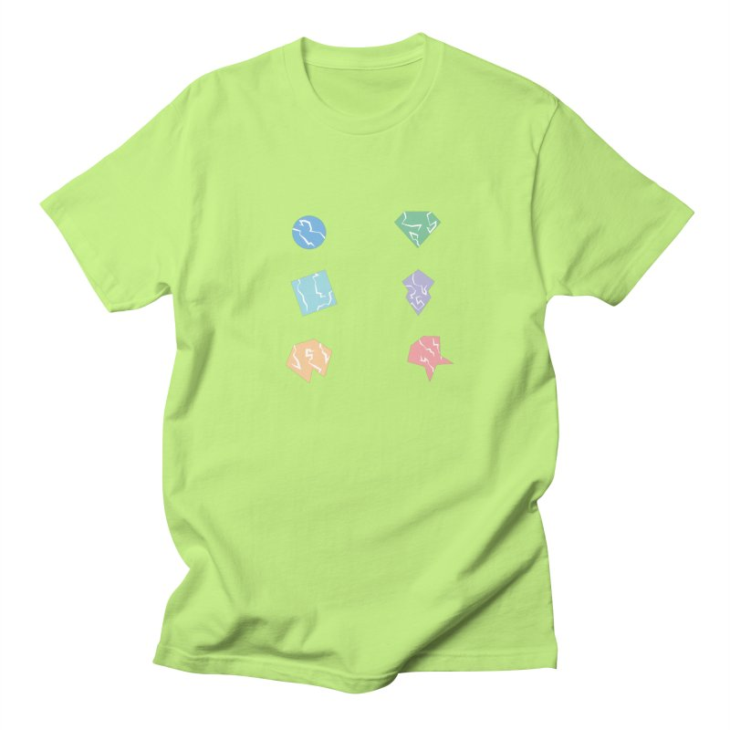 Broken Shapes Men's T-Shirt by Svaeth's Artist Shop