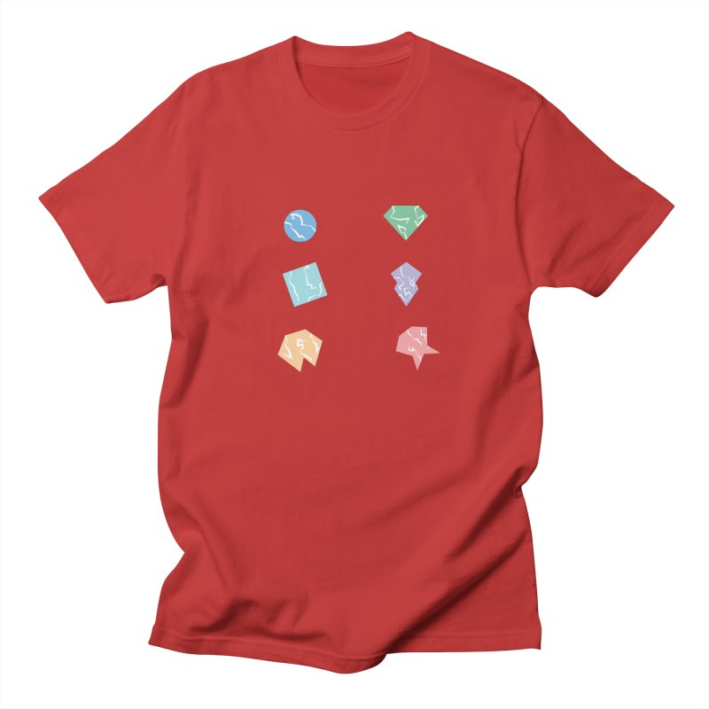 Broken Shapes Women's Regular Unisex T-Shirt by Svaeth's Artist Shop