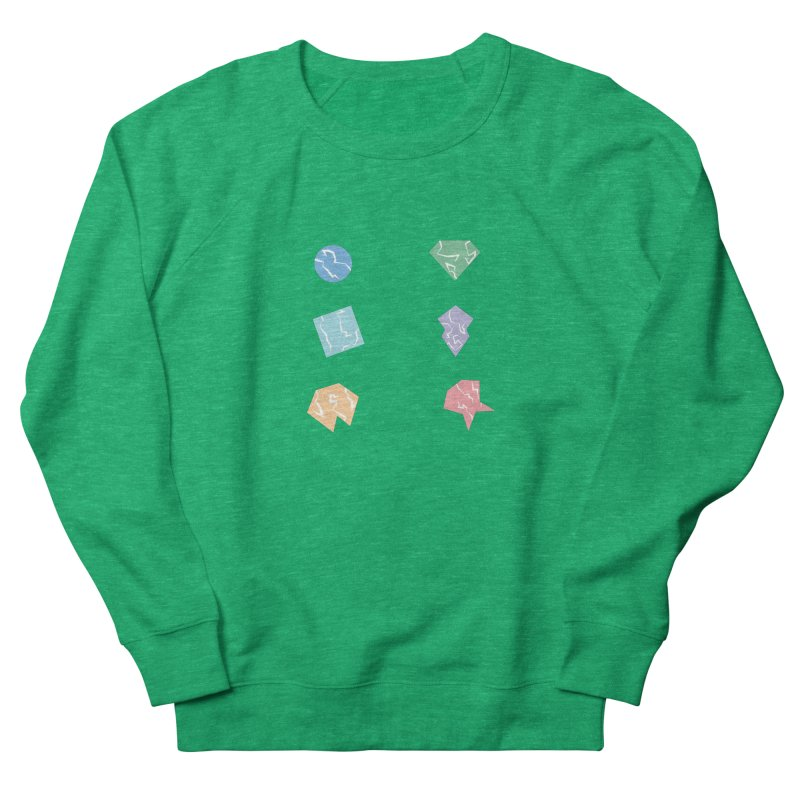 Broken Shapes Women's Sweatshirt by Svaeth's Artist Shop