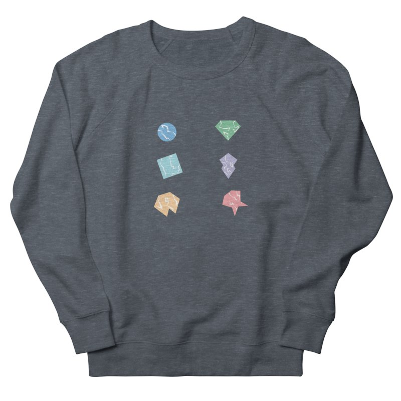 Broken Shapes Men's Sweatshirt by Svaeth's Artist Shop