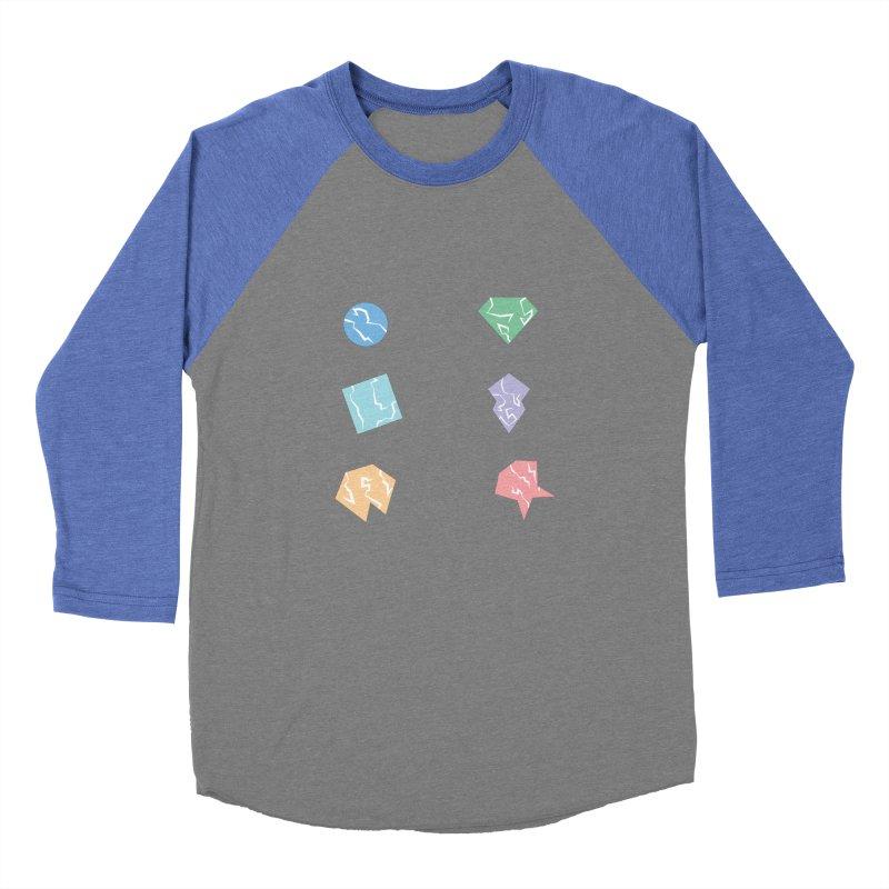Broken Shapes Men's Baseball Triblend Longsleeve T-Shirt by Svaeth's Artist Shop