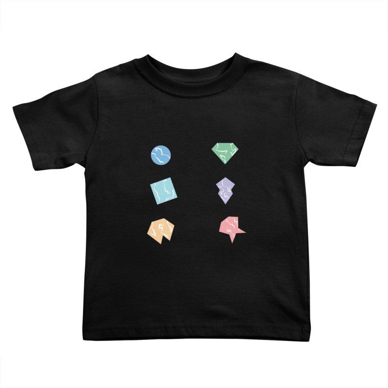 Broken Shapes Kids Toddler T-Shirt by Svaeth's Artist Shop