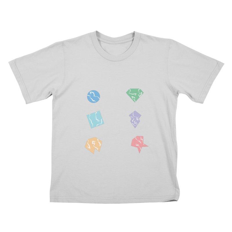Broken Shapes Kids T-Shirt by Svaeth's Artist Shop
