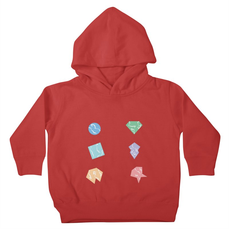 Broken Shapes Kids Toddler Pullover Hoody by Svaeth's Artist Shop