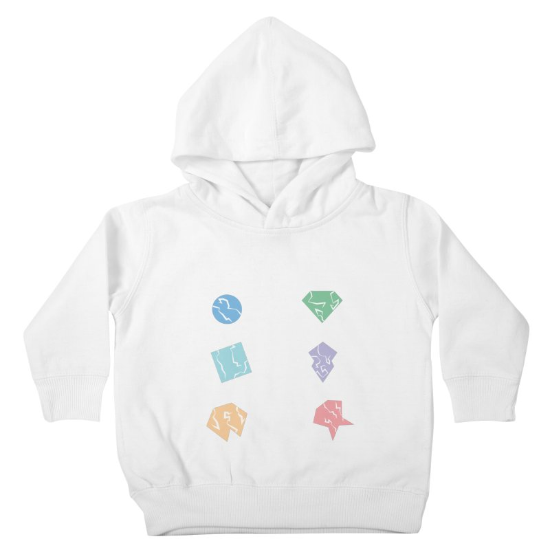 Broken Shapes Kids Toddler Pullover Hoody by Svaeth's Artist Shop