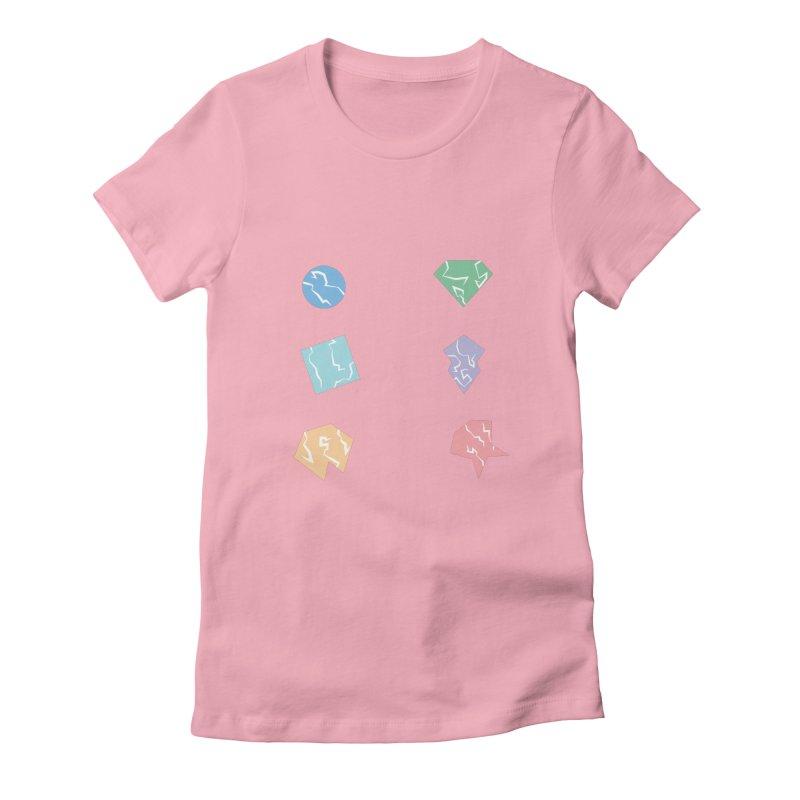 Broken Shapes Women's T-Shirt by Svaeth's Artist Shop