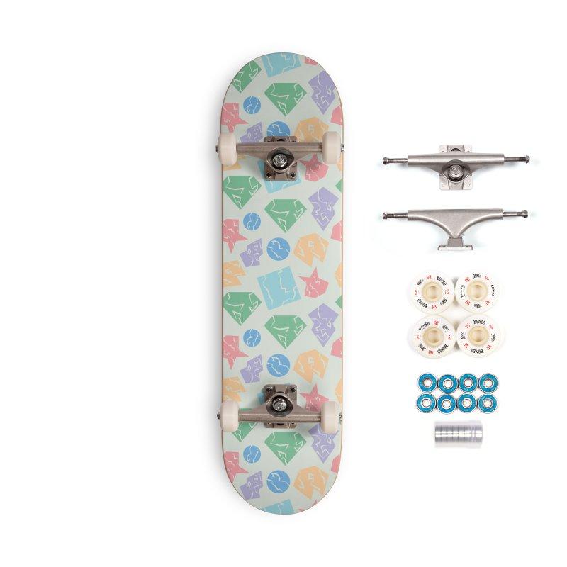 Broken Shapes Accessories Complete - Premium Skateboard by Svaeth's Artist Shop