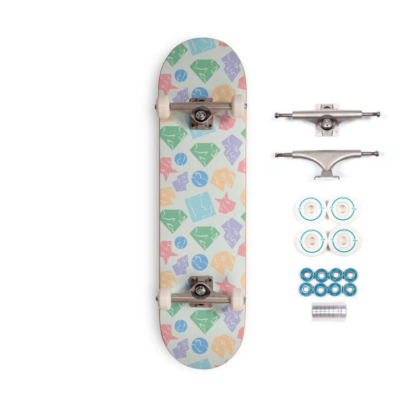 Broken Shapes Accessories Complete - Basic Skateboard by Svaeth's Artist Shop
