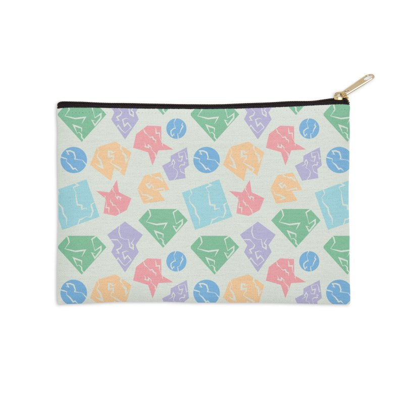Broken Shapes Accessories Zip Pouch by Svaeth's Artist Shop