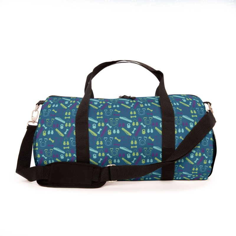 Workout Equipment Accessories Bag by Svaeth's Artist Shop