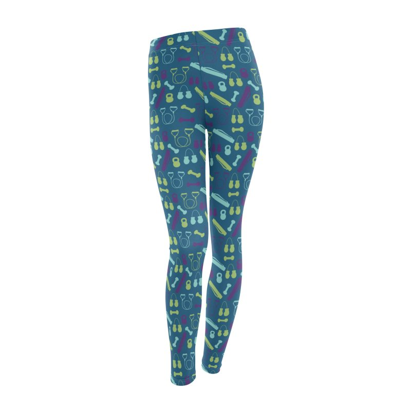 Workout Equipment Women's Bottoms by Svaeth's Artist Shop