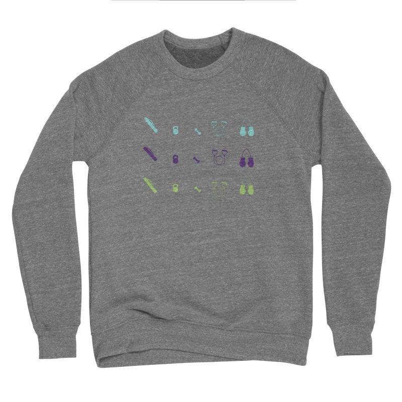 Workout Equipment Men's Sponge Fleece Sweatshirt by Svaeth's Artist Shop