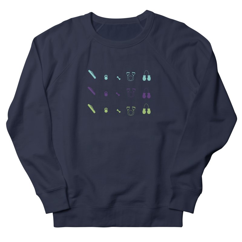 Workout Equipment Men's Sweatshirt by Svaeth's Artist Shop