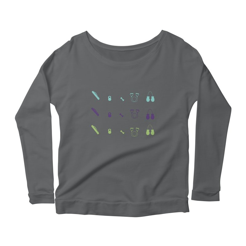 Workout Equipment Women's Longsleeve T-Shirt by Svaeth's Artist Shop