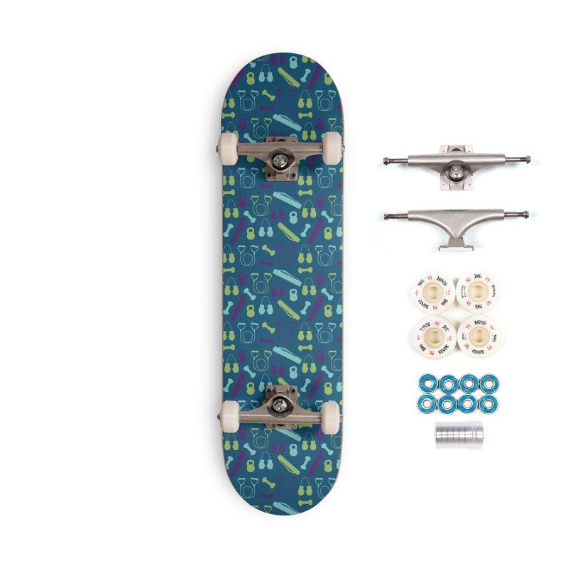 Workout Equipment Accessories Complete - Premium Skateboard by Svaeth's Artist Shop