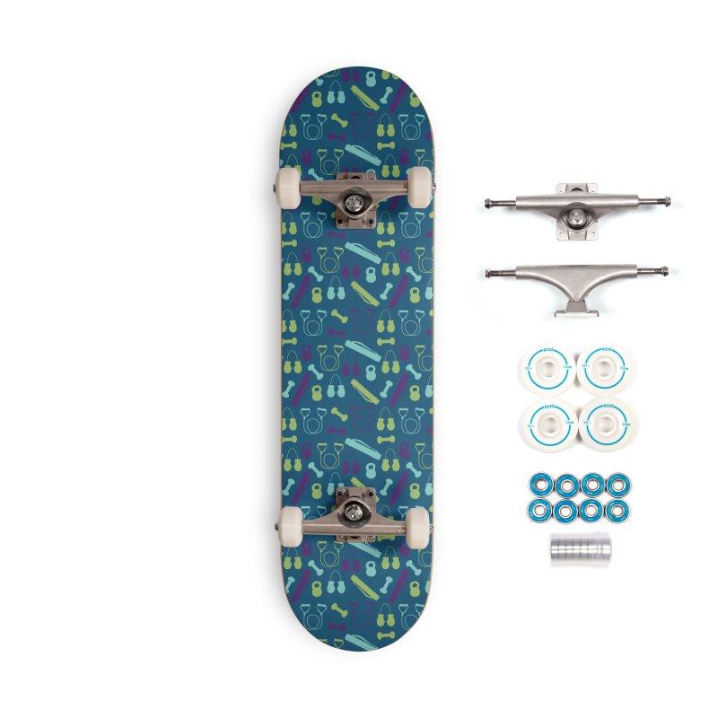 Workout Equipment Accessories Complete - Basic Skateboard by Svaeth's Artist Shop