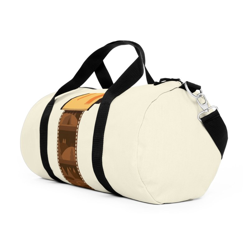 Film Roll Accessories Duffel Bag Bag by Svaeth's Artist Shop
