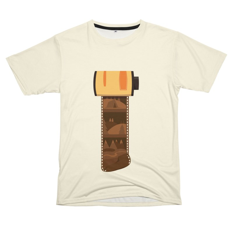 Film Roll Men's T-Shirt Cut & Sew by Svaeth's Artist Shop