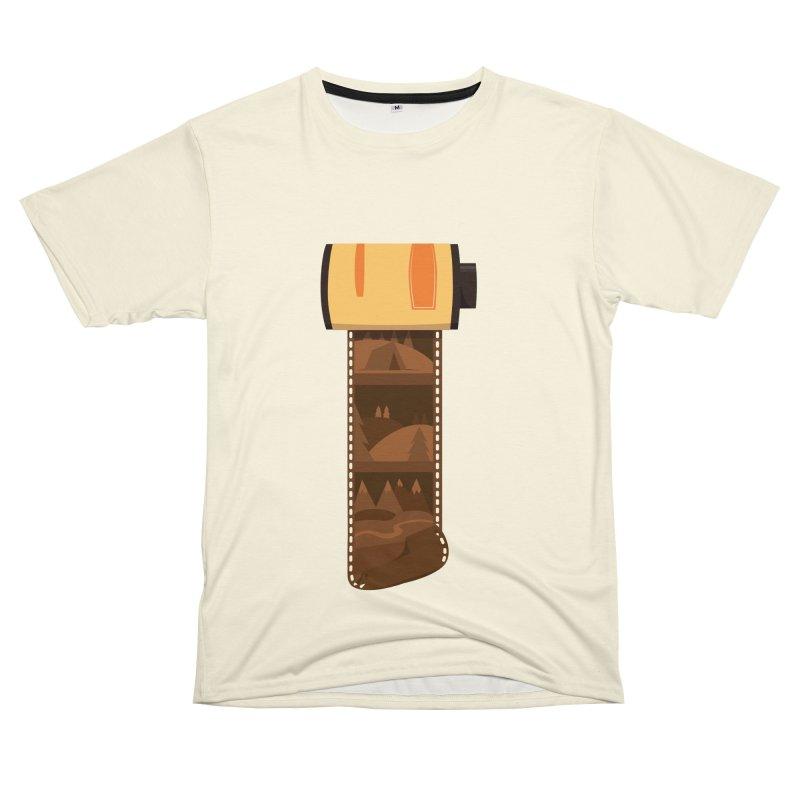 Film Roll Women's Unisex T-Shirt Cut & Sew by Svaeth's Artist Shop