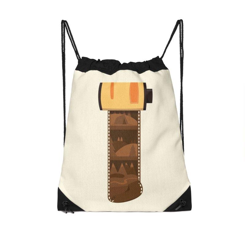 Film Roll Accessories Drawstring Bag Bag by Svaeth's Artist Shop