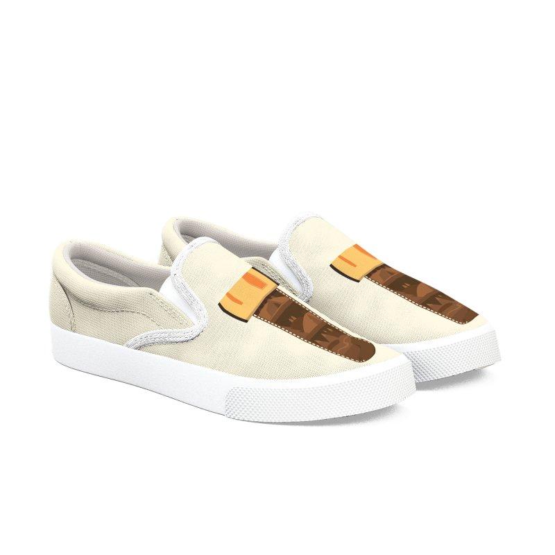 Film Roll Men's Slip-On Shoes by Svaeth's Artist Shop
