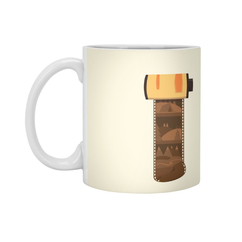 Film Roll Accessories Standard Mug by Svaeth's Artist Shop
