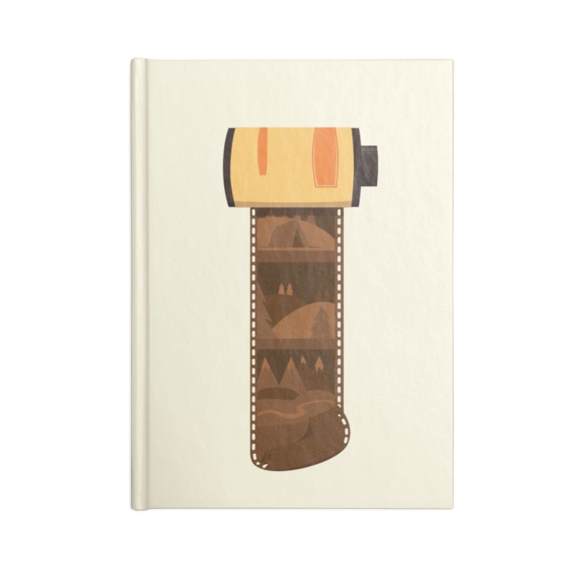 Film Roll Accessories Lined Journal Notebook by Svaeth's Artist Shop