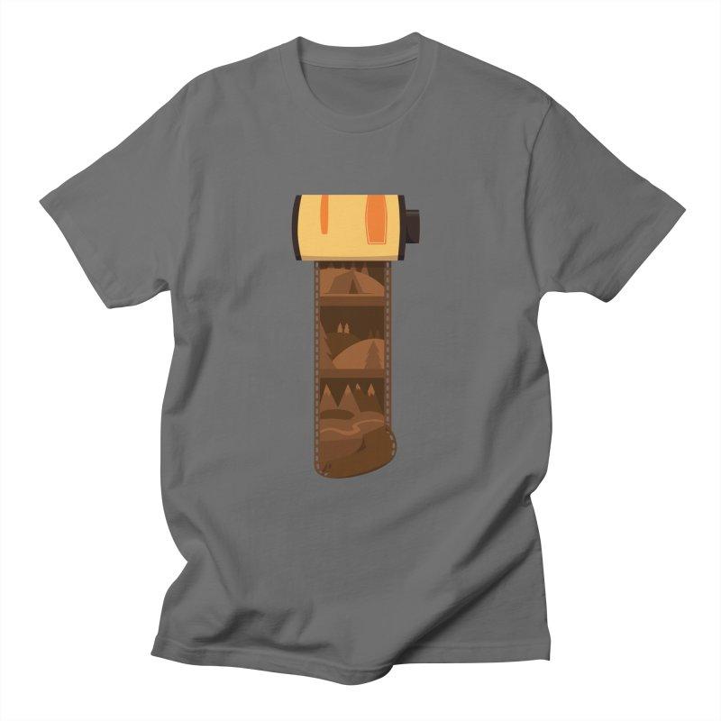 Film Roll Men's T-Shirt by Svaeth's Artist Shop