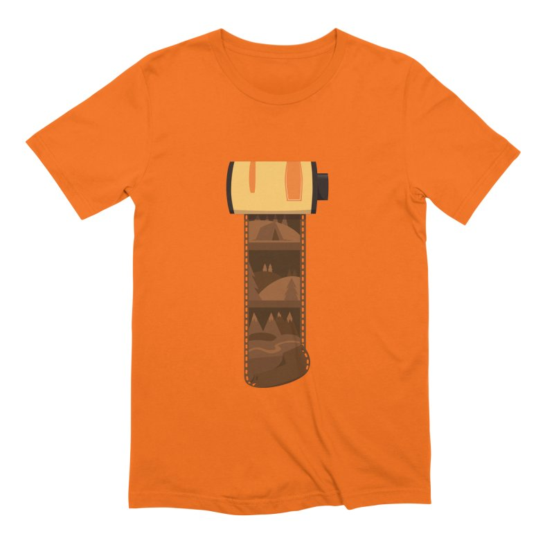 Film Roll Men's Extra Soft T-Shirt by Svaeth's Artist Shop